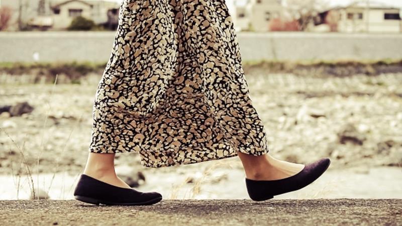 低身長のマーメイドスカートのブログ画像